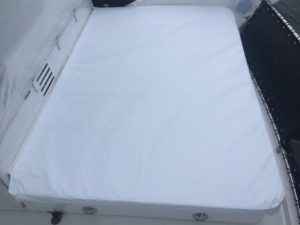 Viking Sport Cruiser new cover for flybridge lounge pads.