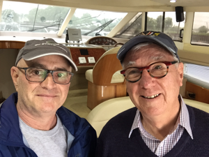 JAWS II owner and Superyacht designer Ron Holland